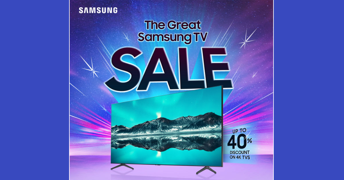 The Great Samsung TV Sale 2020