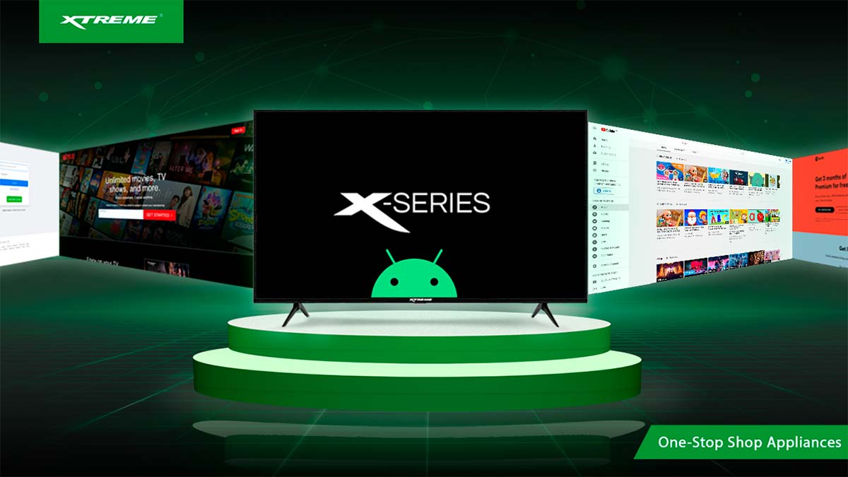 XTREME X-Series Android TV