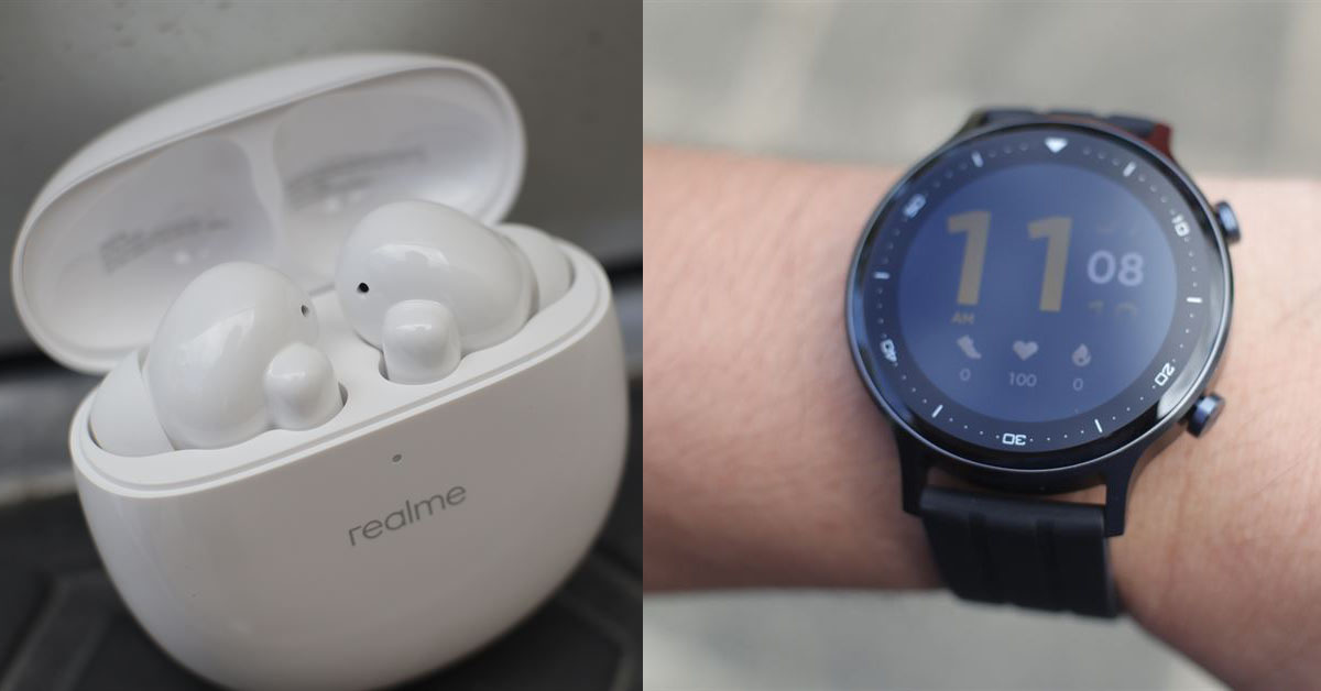 realme Buds Air Pro and realme Watch S