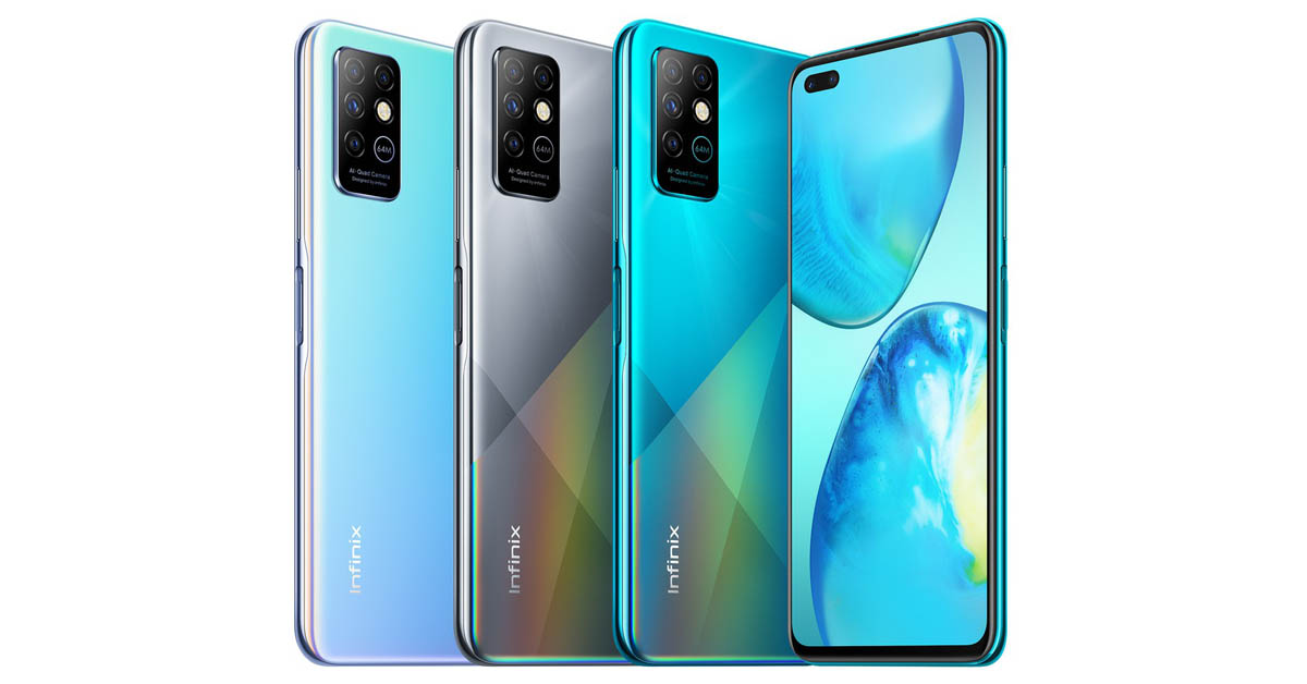 Infinix Note 8 - All Colors 1