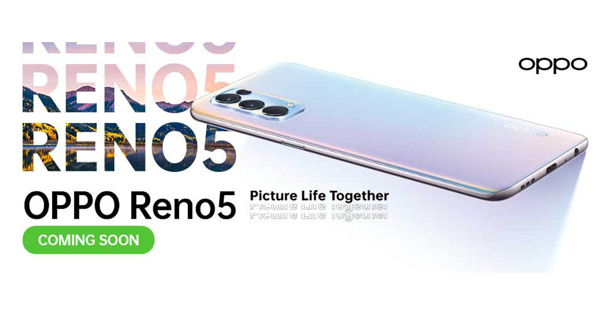 OPPO Reno5 5G Coming to PH
