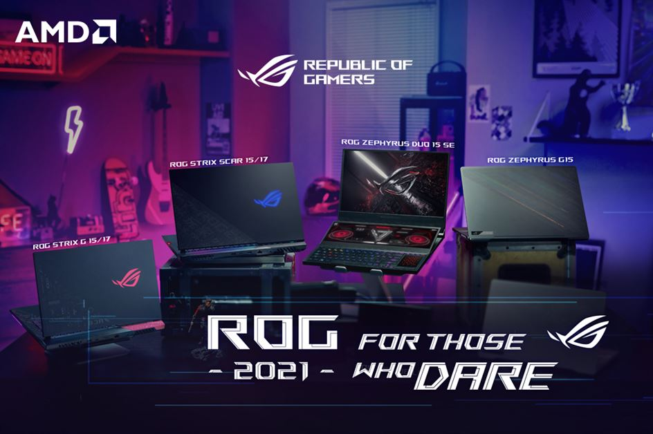 ROG 2021 Laptop launch Cover-Photo