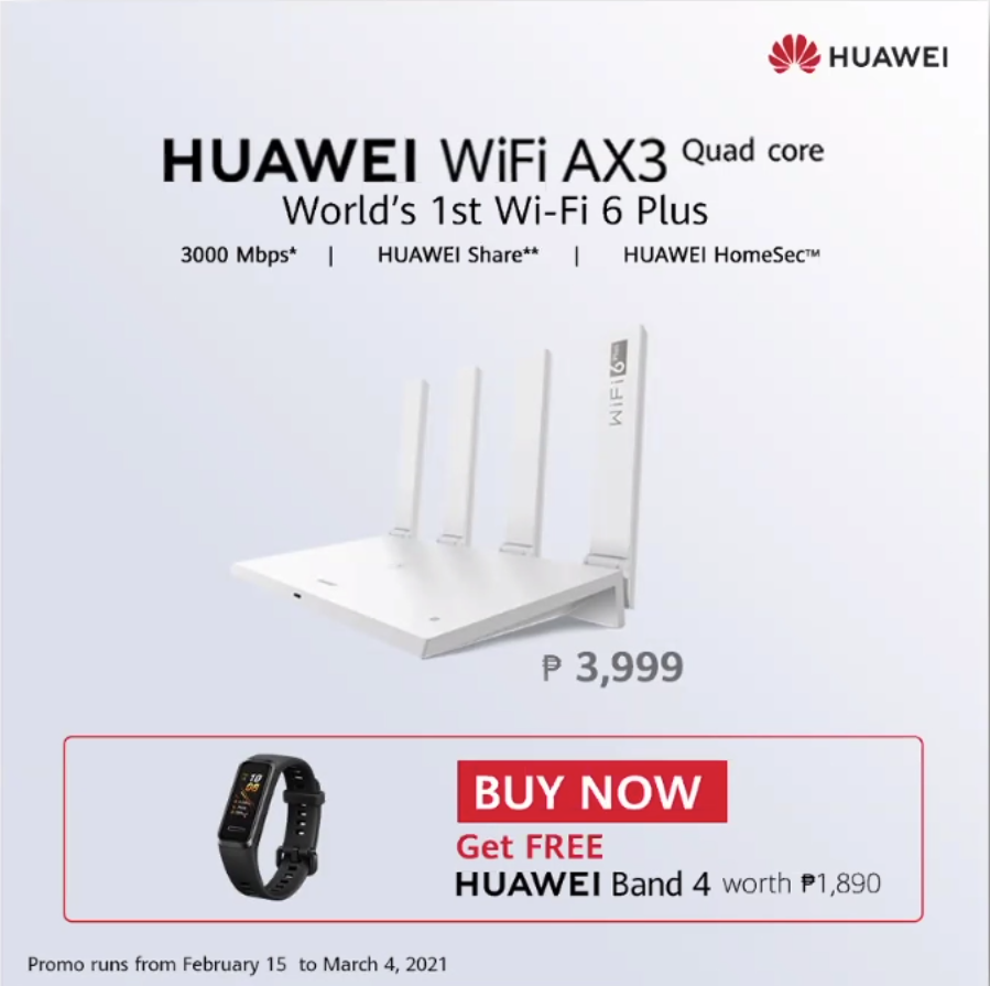 Huawei Wifi AX3 Router Review - Huawei AX3 Router Philippines