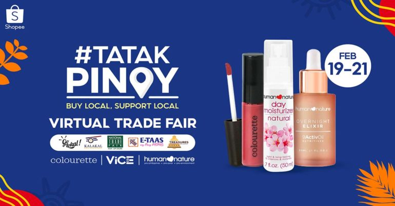 Shopee TatakPinoy Virtual Trade Fair