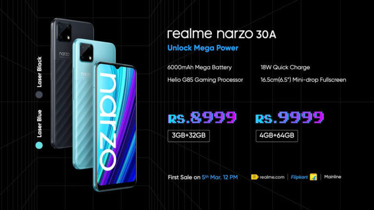 realme-narzo-30-series-30a-price