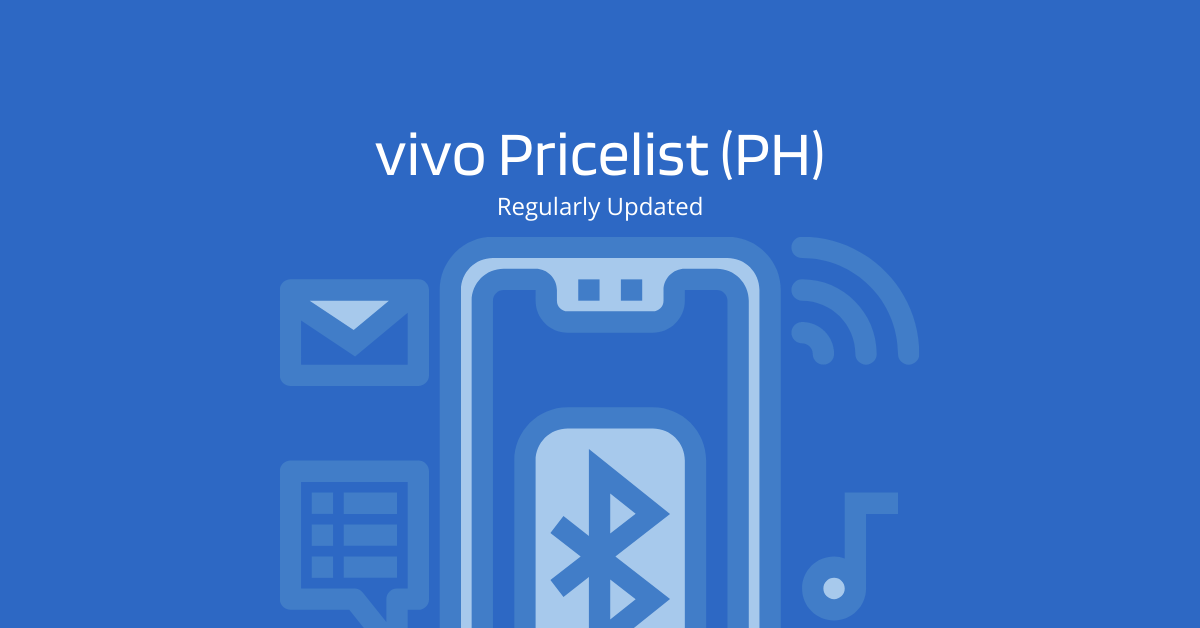 vivo Pricelist - 2