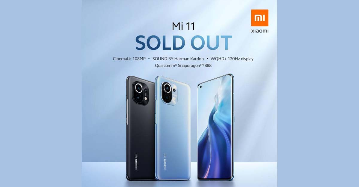 Mi 11 Sold Out 1