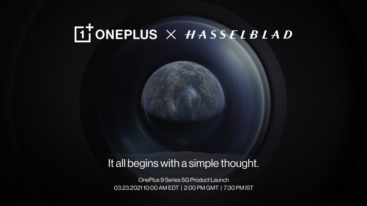 OnePlus 9 Series 5G Set to Launch on March 23
