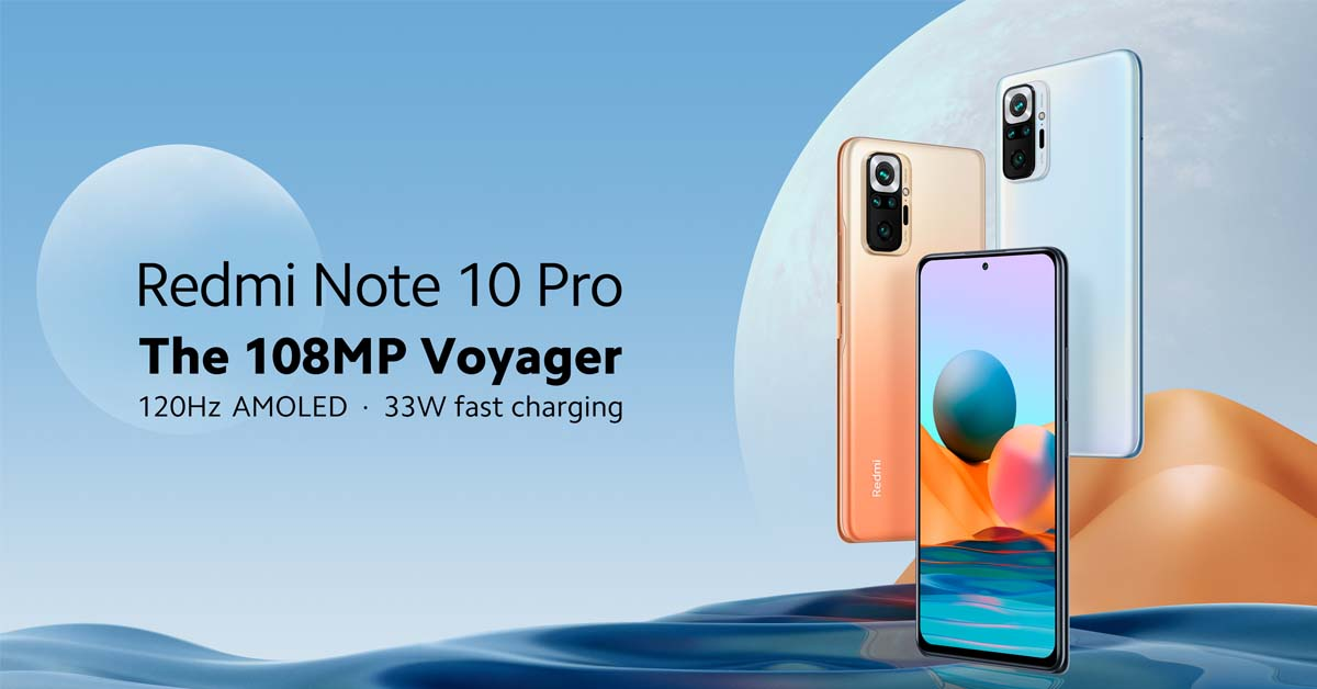 Redmi Note 10 Pro Now Up for Pre-Order, Available in Stores Starting April 24