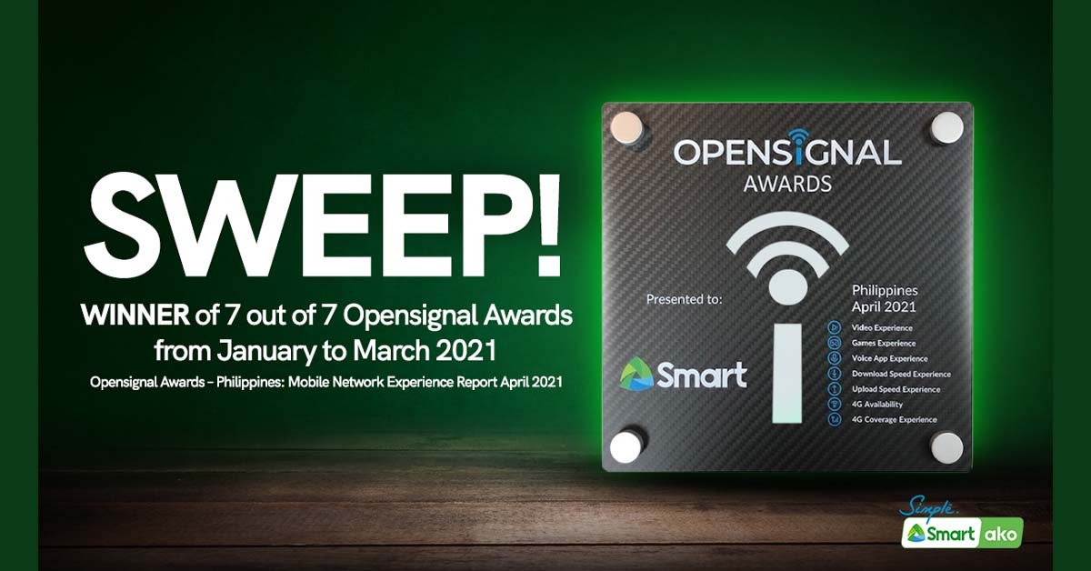 Smart Clinches Rare Sweep in Q1 Opensignal Awards