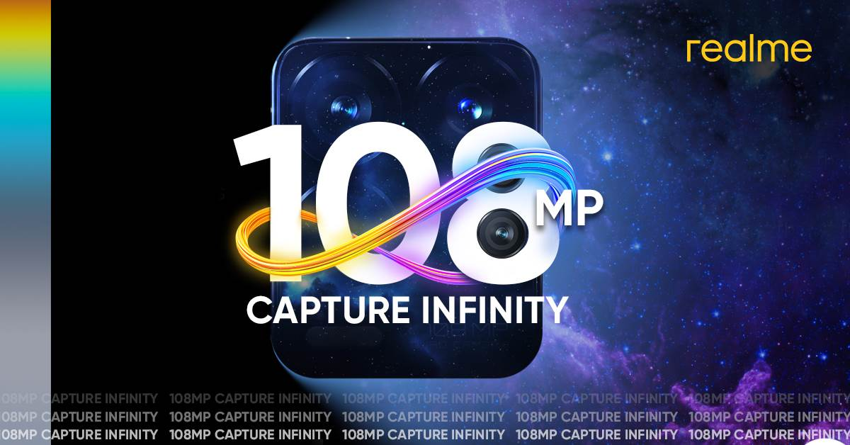 realme Set to Take Mobile Photography to the Next Level with its First 108MP Camera Sensor