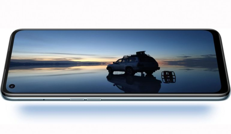 OPPO Reno5 A display