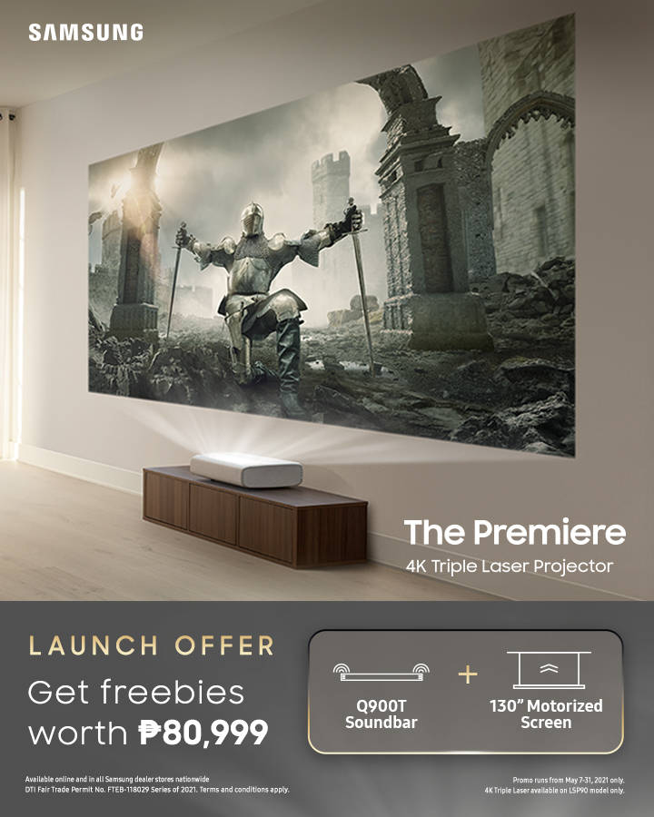 Samsung The Premiere poster