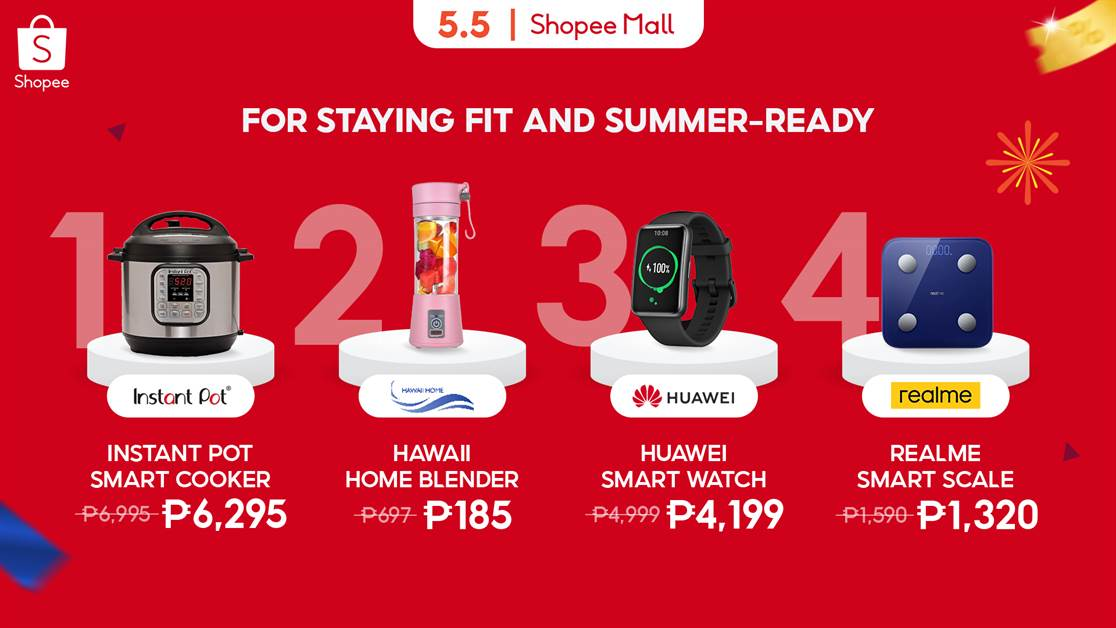 Shopee 5.5 EL Staying Fit
