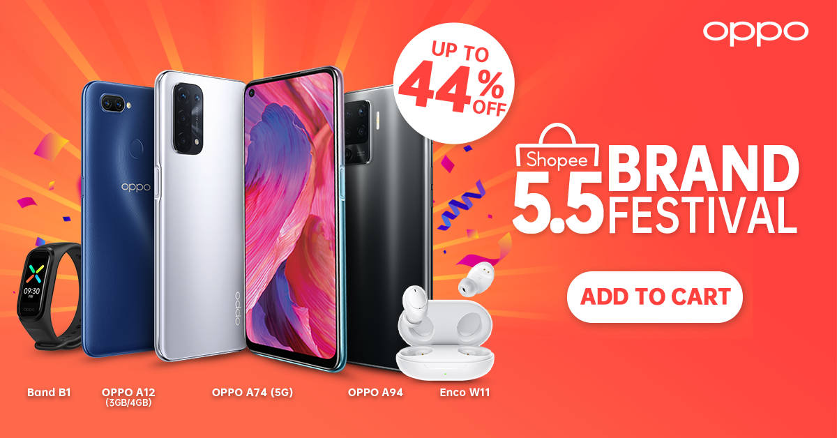 OPPO A74 5G Launches with Exclusive Offers at the Shopee Regional Super Brand Day Sale