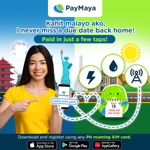 PayMaya Opens Government Payments, Financial Services for OFWs and Filipinos Abroad