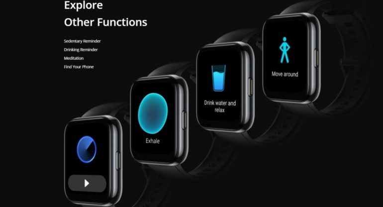 realme Watch 2 Pro functions