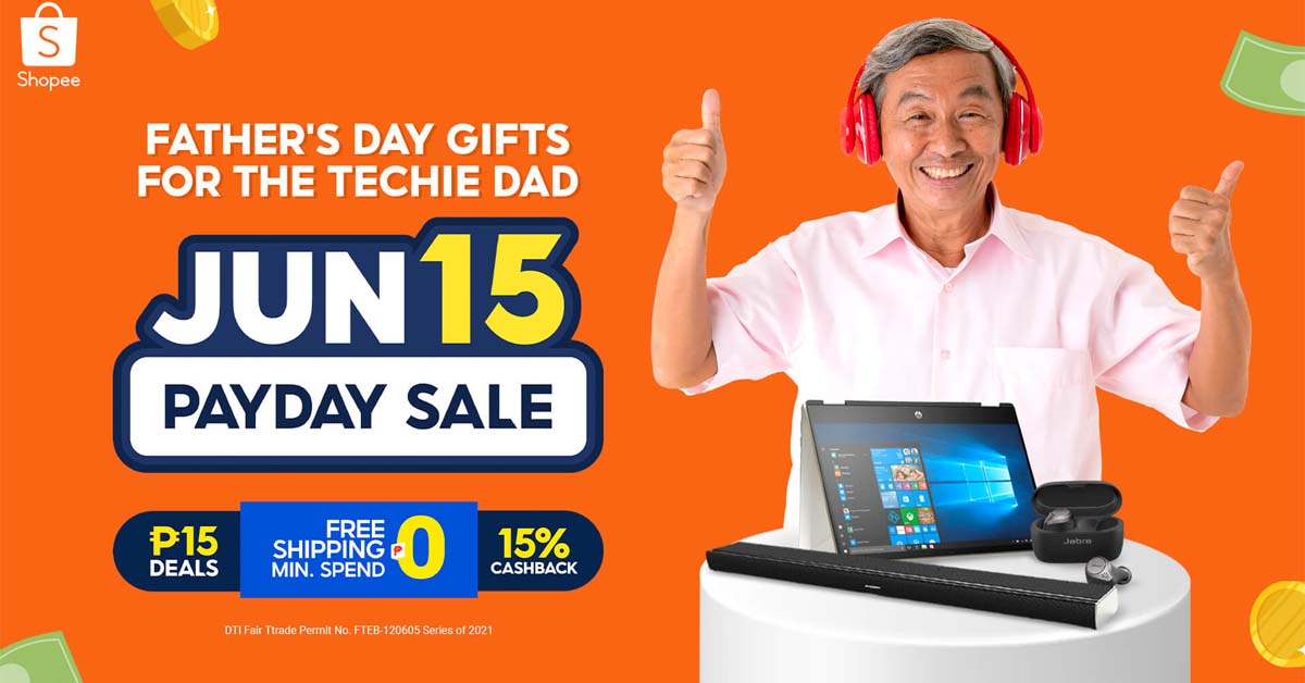 6.15 Payday Sale Father's Day (Techie) Main KV - 1