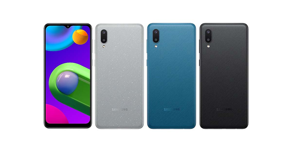 Galaxy M02 - All Colors