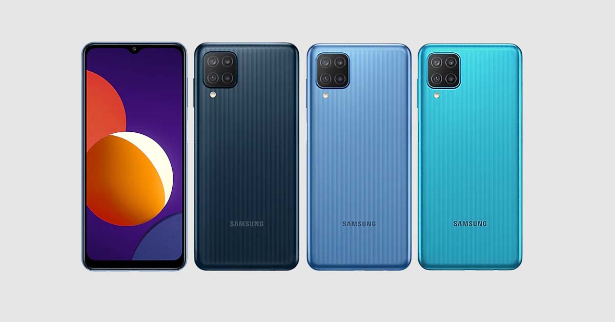 Galaxy M12 - All Colors