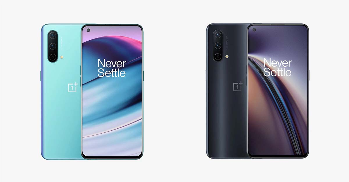 oneplus nord ce - all colors - 1