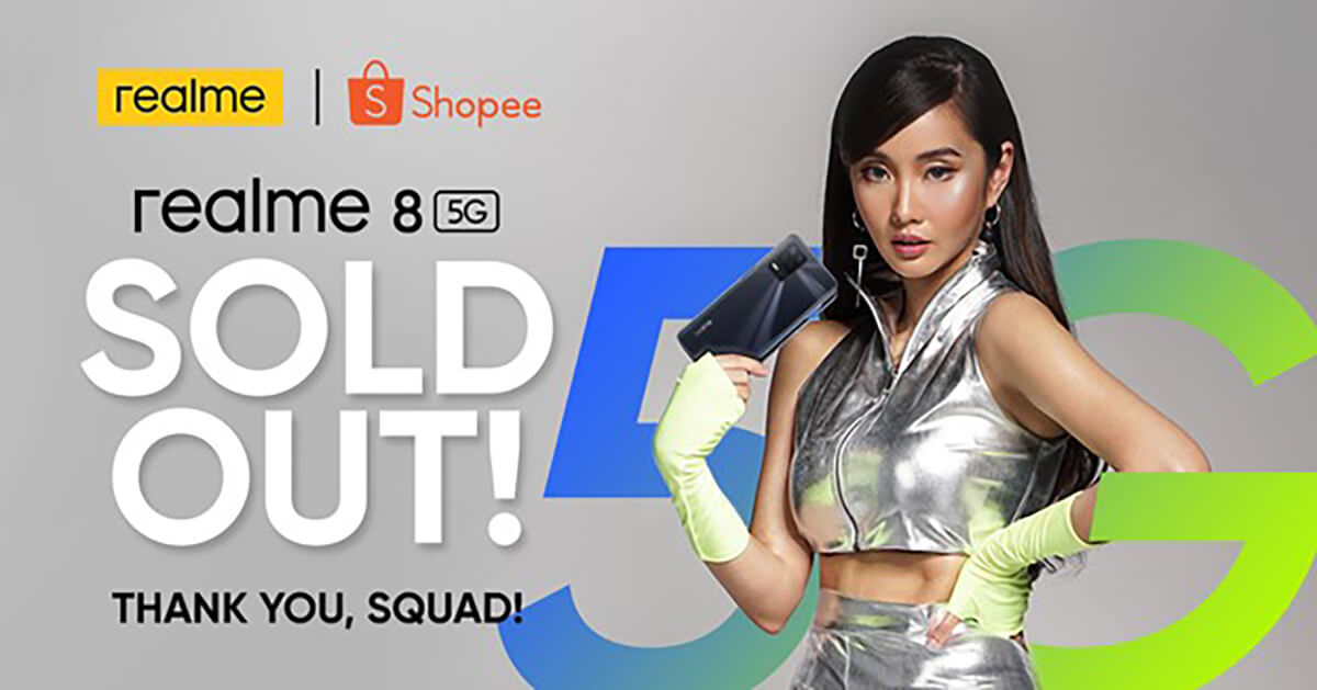 realme 8 5G sold out - 1