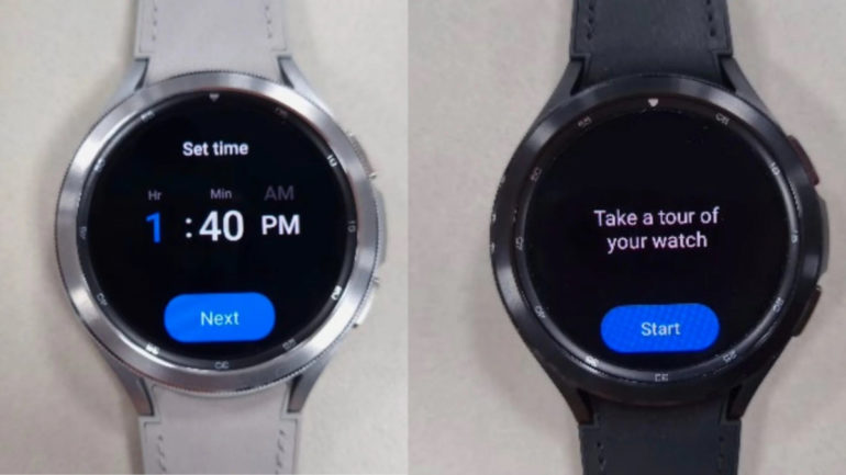 Samsung Galaxy Watch4 Classic live images leaked