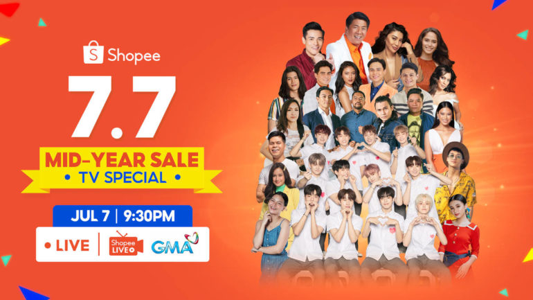 Shopee 7.7 Mid-Year Sale TV Special