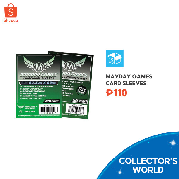 Shopee Collector's World - card sleeves